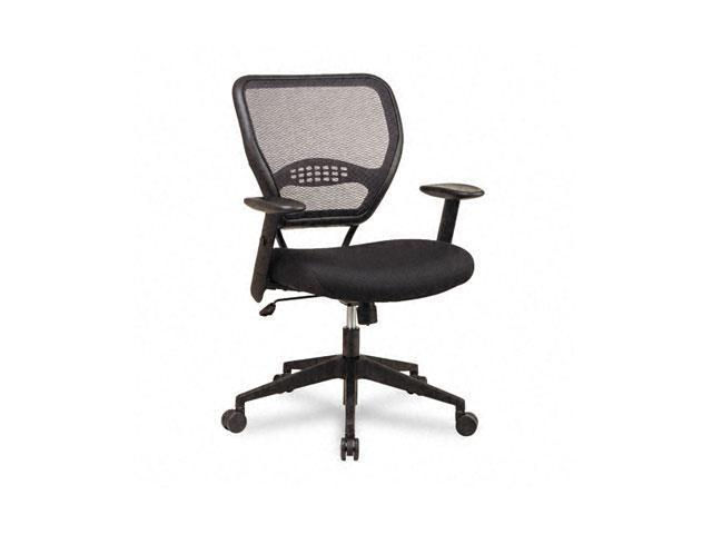 space 5500 air grid mid back swivel chair black 20 1 2 x