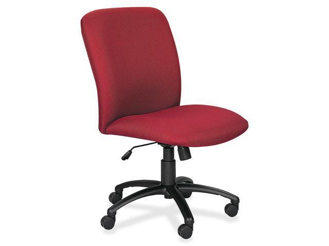 Safco 3490BG Chair, High-Back, Big & Tall, Burgundy