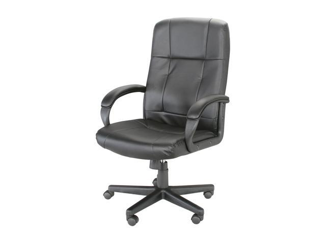 Rosewill High Back Leather Executive Chair - Black (RFFC-11001)