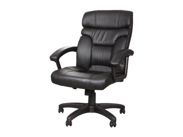Rosewill RFFC-11008 High Back Leather Executive Chair - Black (RFFC-11008)