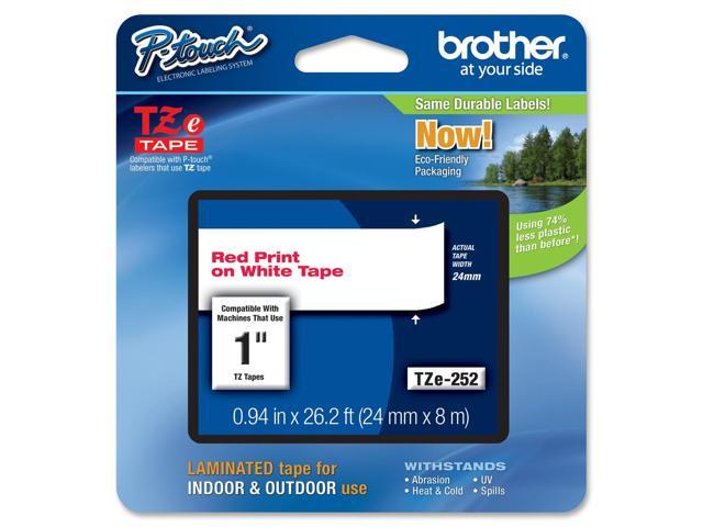 Brother P-Touch TZ Series Lettering Tape , 1