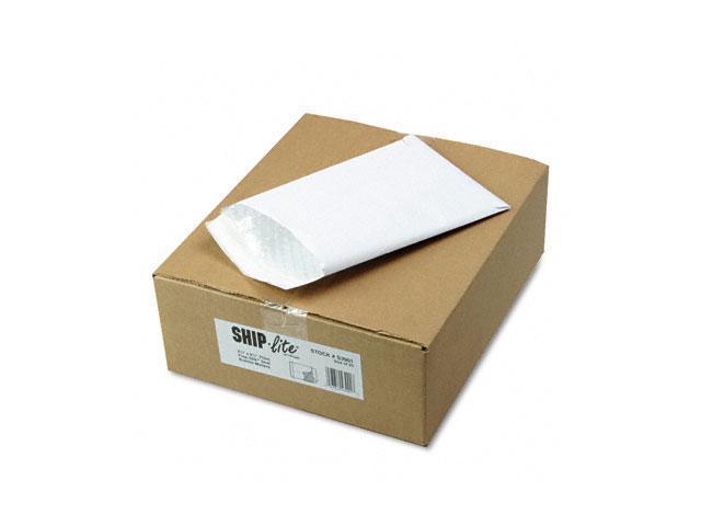 Quality Park S3901 Ship-Lite Bubble Lined Envelope, Side Seam, 6 1/2 x 9 1/2, White, 25/Box