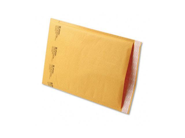 Sealed Air 39096 Jiffylite Self-Seal Mailer, Side Seam, #5, 10 1/2 x 16, Golden Brown, 100/Carton
