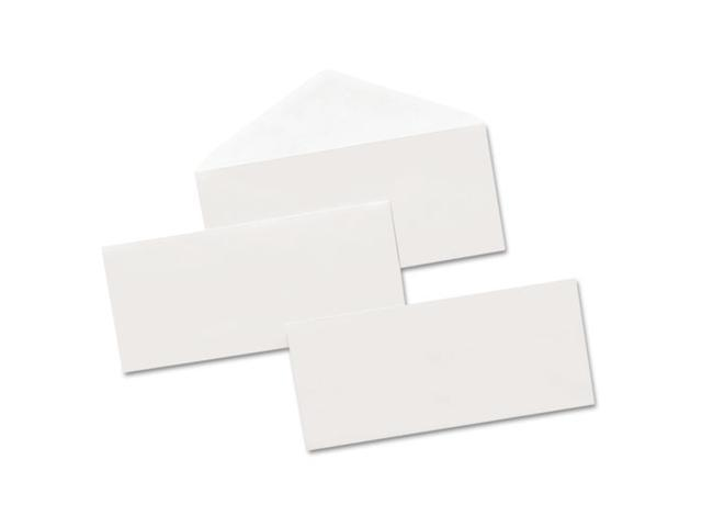Office Impressions Security Tinted Business Envelope, V-Flap, #10, White, 500/Box