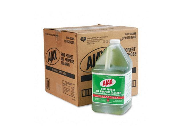 Ajax 04209CT Pine Forest All-Purpose Cleaner, Pine Scent, 1 gal Bottle, 4/Carton