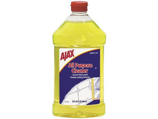 Ajax 41197 All-Purpose Liquid Cleaner, Lemon Scent, 32 oz. Bottle
