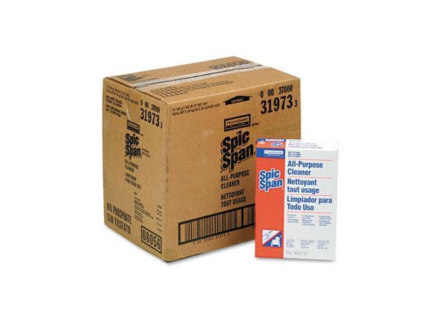 Spic and Span 31973CT All-Purpose Floor Cleaner, 27 oz Box, 12/Carton