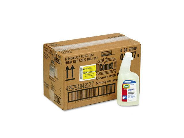 Procter & Gamble 02287CT Comet Cleaner w/Bleach, 32 oz. Trigger Spray Bottle, 8/Carton