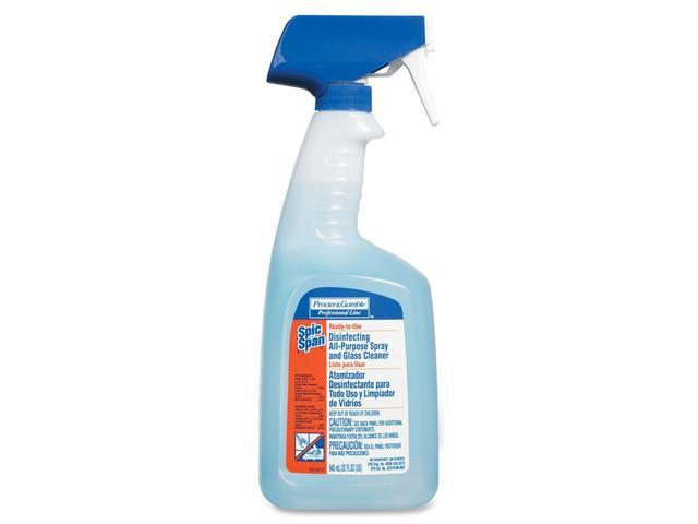 Spic and Span 31240CT Disinfecting All-Purpose Spray & Glass Cleaner,32oz Trig Bottle, 8/Ctn