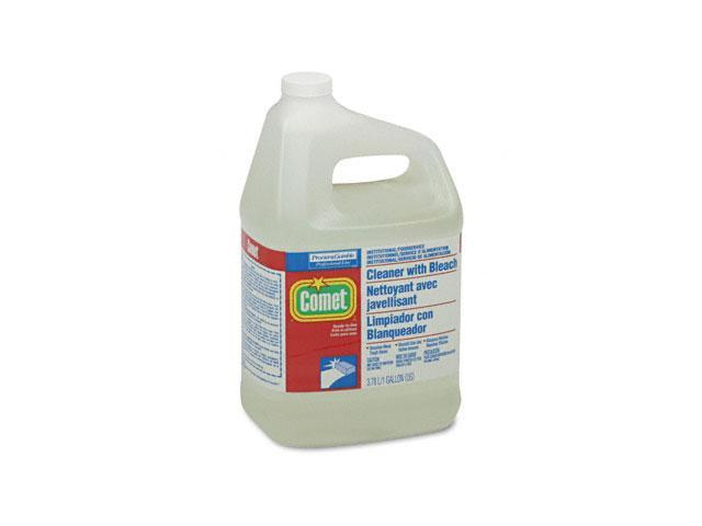 Procter & Gamble 02291 Comet Cleaner w/Bleach, Liquid, 1 gal. Bottle