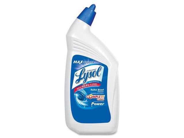 Professional LYSOL Brand 74278CT Disinfectant Toilet Bowl Cleaner, 32 oz. Bottle, 12/Carton