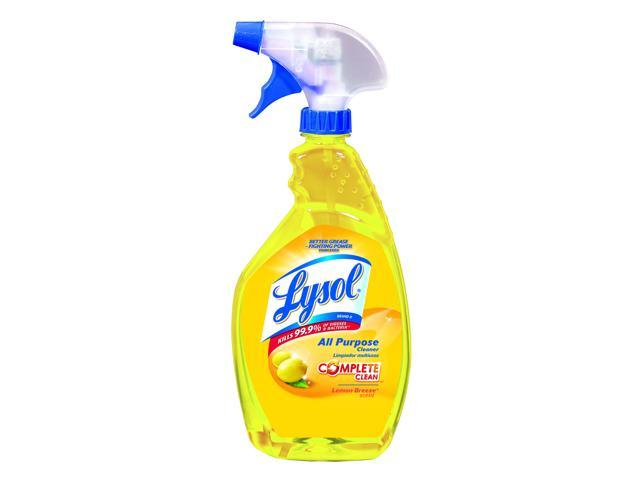 LYSOL Brand 75352EA All-Purpose Cleaner, Lemon, 32 oz. Spray Bottle