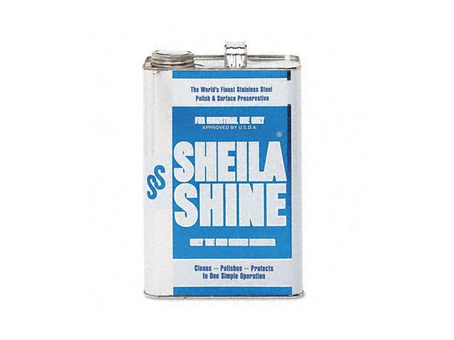 Sheila Shine 4EA Stainless Steel Cleaner & Polish, 1 gal. Can
