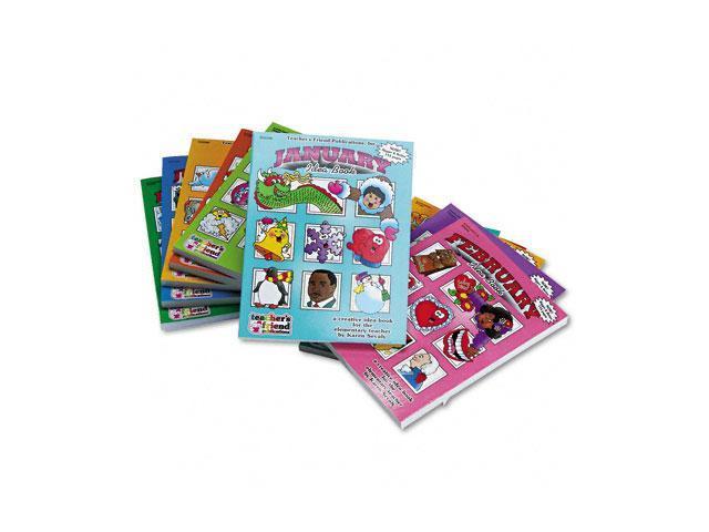 Scholastic 0439510538 Monthly Idea Books Set, January-December, Grades Pre K-6, Paperback, 144 Pages