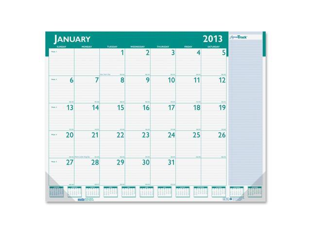 House of Doolittle 148 Express Track Monthly Desk Pad Calendar, 22 x 17