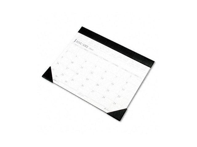House of Doolittle 150-451-01 Two-Color Refillable Monthly Desk Pad Calendar, 22 x 17