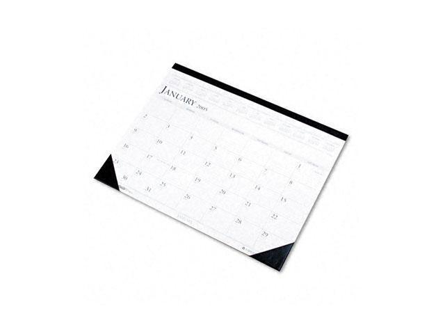 House of Doolittle 150-HD Two-Color Monthly Desk Pad Calendar, 22 x 17