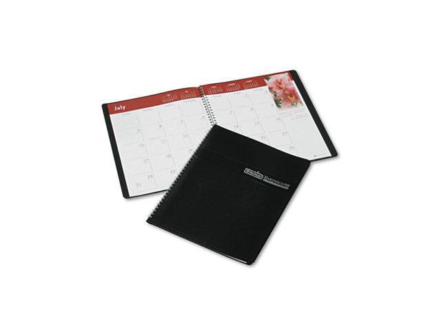 House of Doolittle 264-02 Earthscapes Full-Color Monthly Planner, 8-1/2 x 11, Black