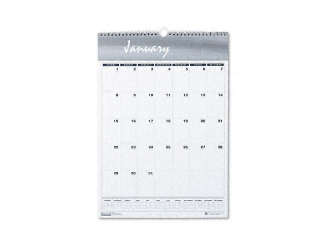 House of Doolittle 332 Bar Harbor Wirebound Monthly Wall Calendar, 12 x 17