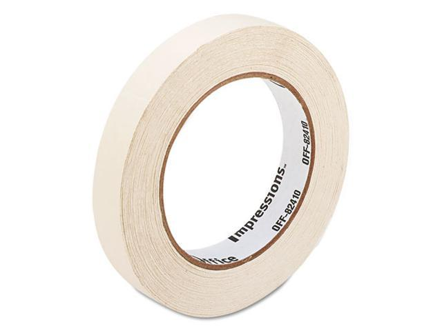 "Office Impressions General-Purpose Masking Tape, 3/4"" x 60 yards, 3"" Core, Natural"