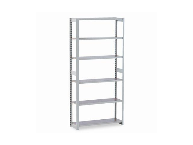 Tennsco RGL-1236ASD Regal Shelving Add-On Unit, 6 Shelves, 36w x 12d x 76h, Sand