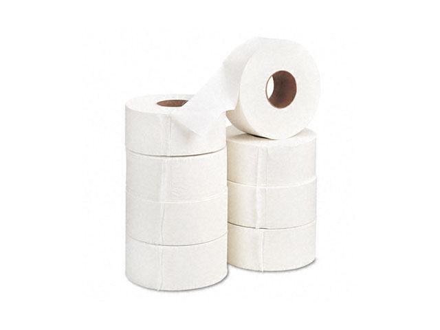 "Georgia Pacific 13728 Acclaim Jumbo Jr. Bath Tissue Roll, 9"" dia, 1000 ft, 8 Rolls/Carton"