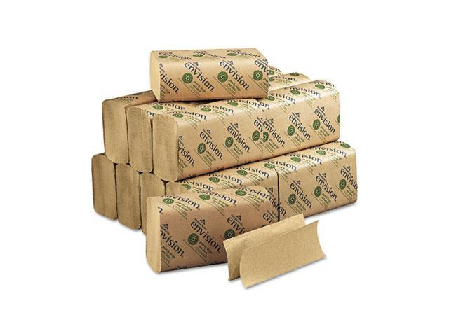 Georgia Pacific 23304 Envision Multifold Paper Towel, 9-1/4 x 9-1/2, Brown, 250/Pack, 16/Carton