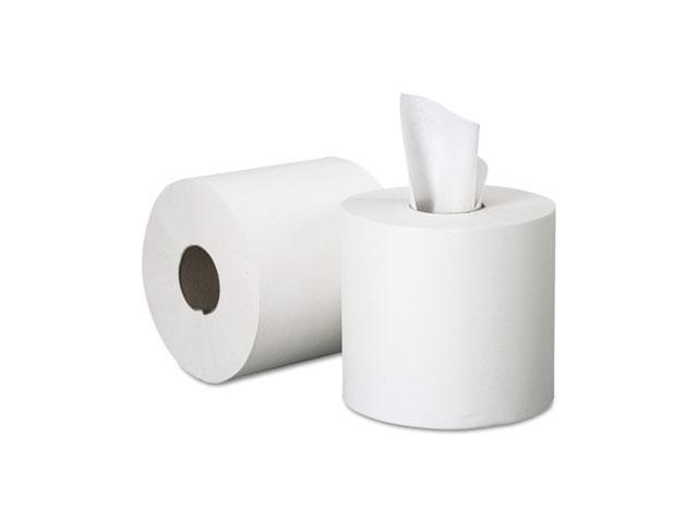 KIMBERLY-CLARK PROFESSIONAL* 01051 SCOTT Center-Pull Paper Roll Towels, 8 x 15, White, 500/Roll, 4/Carton