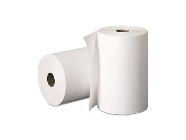 KIMBERLY-CLARK PROFESSIONAL* 02068 SCOTT Hard Roll Towels, 8 x 400', White, 12/Carton