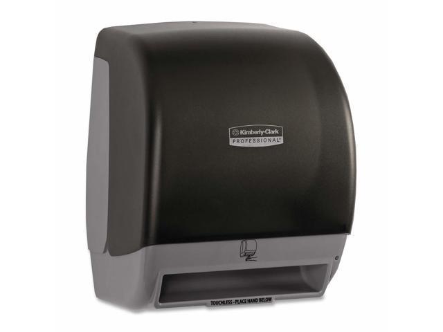 KIMBERLY-CLARK PROFESSIONAL* 09803 Touchless Electronic Roll Towel Dispenser,12 27/100x9 47/100x15 1/5,Smoke/Gray