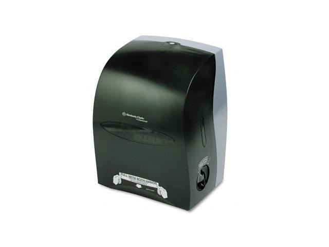 KIMBERLY-CLARK PROFESSIONAL* 09990 IN-SIGHT SANITOUCH Hard Roll Towel Dispenser, 12 3/5 x10 1/5x16 1/10, Smoke/Gray