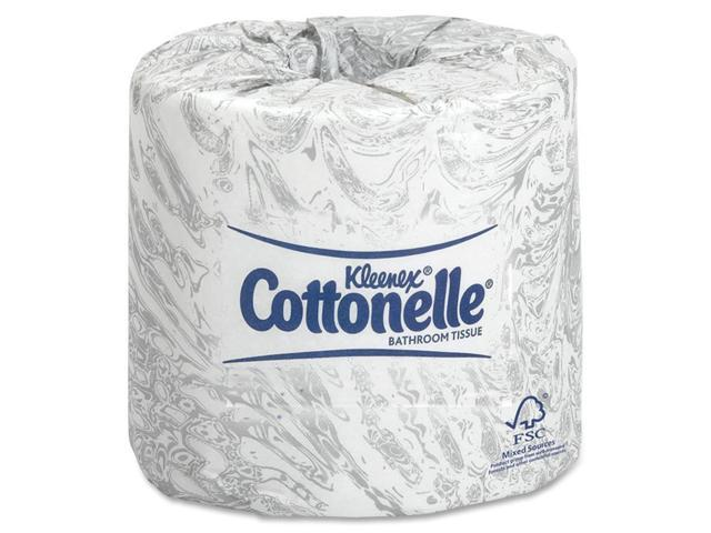 KIMBERLY-CLARK PROFESSIONAL* 17713 KLEENEX COTTONELLE Two-Ply Bathroom Tissue, 506 Sheets/Roll, 60 Rolls/Carton