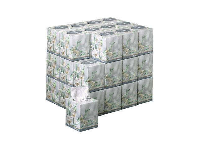 KIMBERLY-CLARK PROFESSIONAL* 21269 KLEENEX BOUTIQUE Two-Ply White Facial Tissue, 95 Tissues/Box, 36 Boxes/Carton