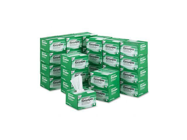 KIMBERLY-CLARK PROFESSIONAL* 34120 KIMTECH SCIENCE KIMWIPES, Tissue, 4 2/5 x 8 2/5, 280/Box, 30/Carton