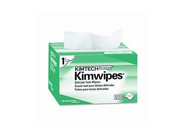 KIMBERLY-CLARK PROFESSIONAL* 34155 KIMTECH SCIENCE KIMWIPES, Tissue, 4 2/5 x 8 2/5, 280/Box