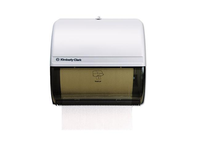 KIMBERLY-CLARK PROFESSIONAL* 9746 IN-SIGHT OMNI Roll Towel Dispenser, 10 1/2 x 10 x 10, Smoke/Gray