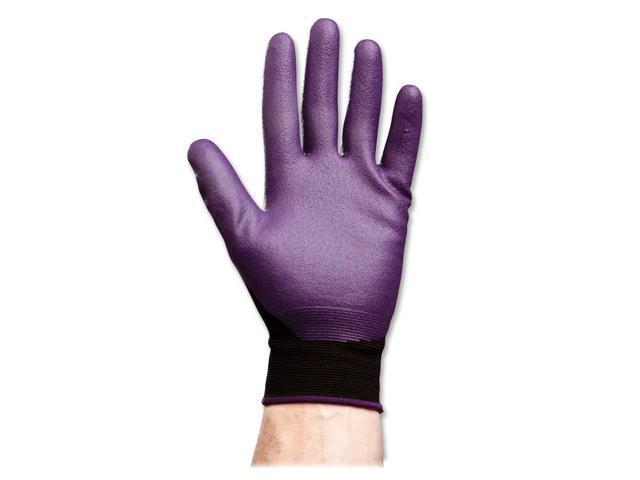 KIMBERLY-CLARK PROFESSIONAL* 40228 KLEENGUARD G40 Foam Coated Nitrile/Nylon Gloves, X-Large/Size 10, PE, 12 Pair