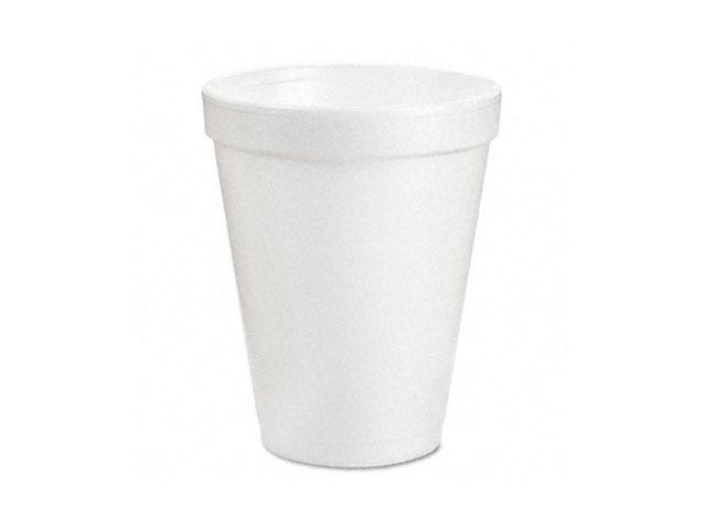 Dawn 10J10 Drink Foam Cups, 10 oz., 40 Bags of 25/Carton