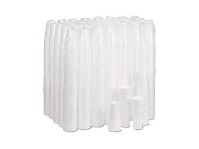 Dawn 16J16 Drink Foam Cups, 16 oz., White, 40 Bags of 25/Carton