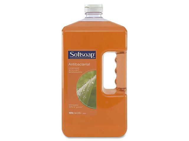 Softsoap 01901CT Antibacterial Moisturizing Soap, Liquid, 1 gal Refill Bottle, 4/Carton