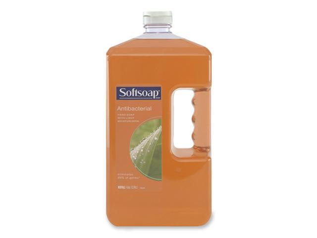 Softsoap 01901EA Antibacterial Moisturizing Soap, Liquid, 1 Gallon Refill Bottle