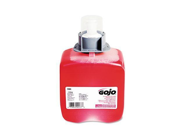 GOJO 5161-03EA FMX-12 Luxury Foam Hand Wash, Cranberry, FMX-12 Dispenser, 1250ml Pump