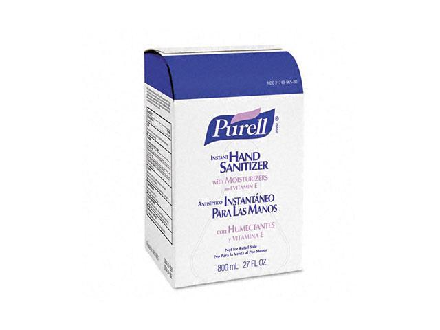 PURELL 9656-06EA Instant Hand Sanitizer Refill Bag-In-Box, 800-ml Bag