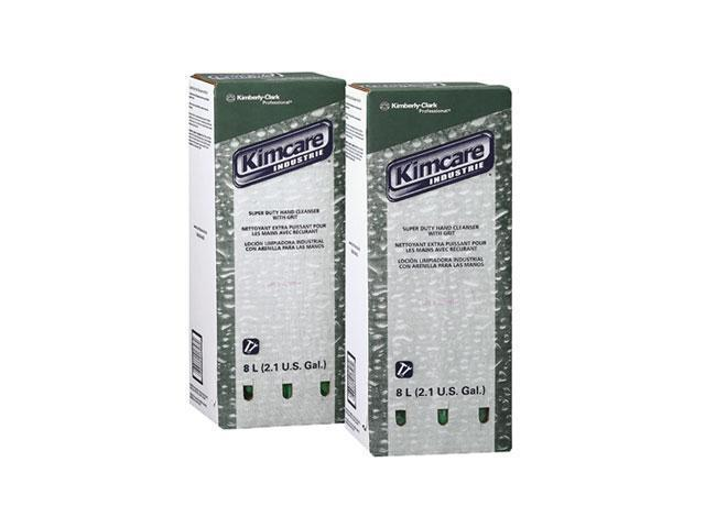 KIMBERLY-CLARK PROFESSIONAL* 91748 KIMCARE INDUSTRIE Super Duty Hand Cleanser w/Grit, Herbal, 8L, Bag In Box