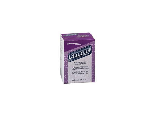 KIMBERLY-CLARK PROFESSIONAL* 92053 KIMCARE GENERAL Gentle Lotion Skin Cleanser, Floral, 500ml, Bag In Box, 18/CT