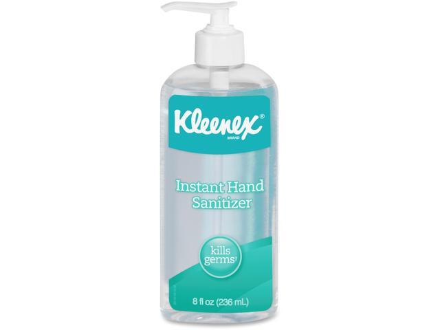 KIMBERLY-CLARK PROFESSIONAL* 93060CT KLEENEX Instant Hand Sanitizer, 8oz, Pump Bottle, Sweet Citrus, 12/Carton