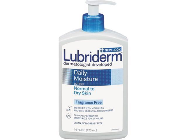 Lubriderm 48856 Skin Therapy Hand & Body Lotion, 16-oz. Pump Bottle