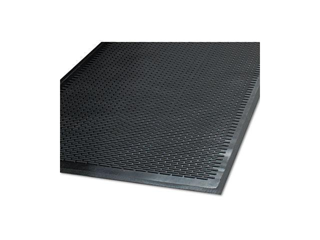 Guardian                                 CleanStep Outdoor Rubber Scraper Mat, Polypropylene, 48 x 72, Black