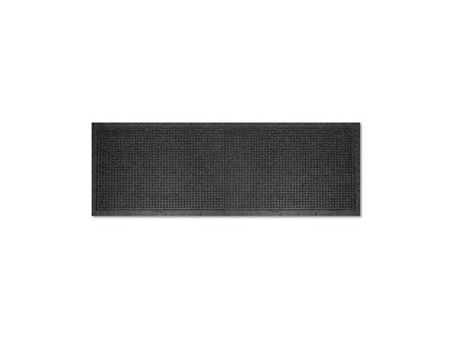 Guardian                                 EcoGuard Indoor Wiper Mats, Rubber, 36 x 120, Charcoal