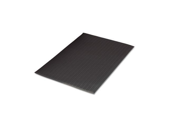 Guardian Air Step Antifatigue Mat, Polypropylene, 24 x 36, Black